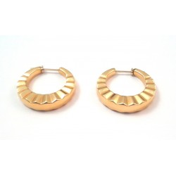 EARRINGS YELLOW GOLD 18 KT TORCION MODEL