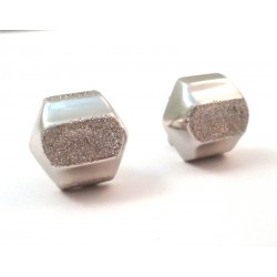 EARRINGS IN WHITE GOLD 18 KT CLOSURE CLIPS