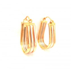 WHITE GOLD 18 KT Velcro CLIPS