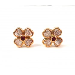 EARRINGS YELLOW GOLD 18 KT