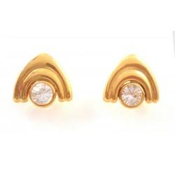EARRINGS YELLOW GOLD 18 KT
