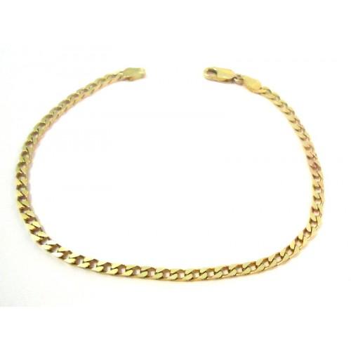 1979f5890ff1 Amarillo de pulsera en 18 KT de los hombres y modelo de la cadena de oro