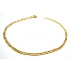 CHAIN BRACELET UNSEX YELLOW GOLD 18 KT