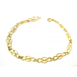CHAIN BRACELET FROM WOMAN IN YELLOW GOLD 18 KT