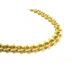 18 KT YELLOW GOLD CHAIN NECKLACE