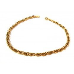 BRACELET CHILD WHITE GOLD 18 KT